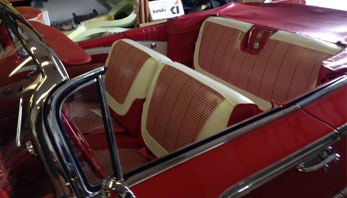 Convertible Top Repair Classic Cars Delaware
