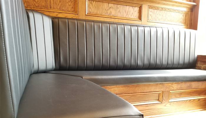 Delaware Booth Seating Upholstery