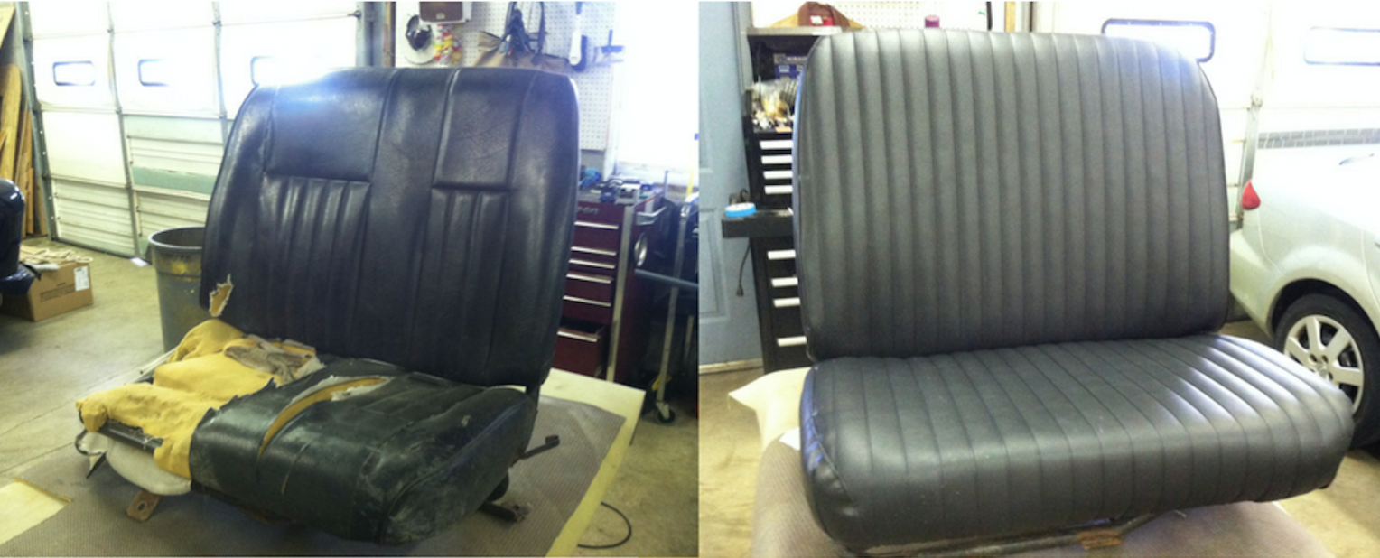 Fleet Vehicle Maintenance Repair Rayco Upholstery