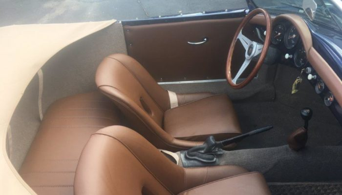Custom made front_back seats_door panels_and dash