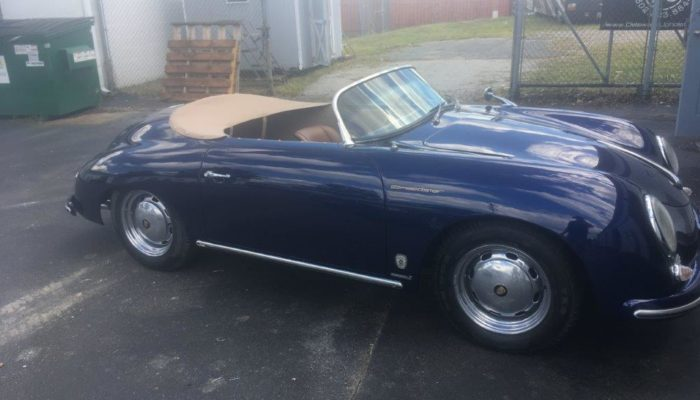 Porsche Speedster custom upholstery & Soft top Repair